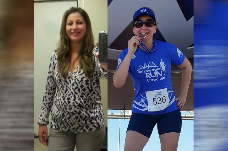 Relato de Jacqueline Torres sobre sua mudança de hábitos